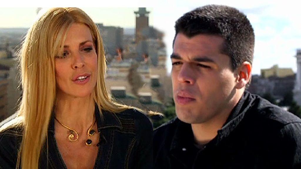 Maribel Sanz y Sergio Capdevila, madre e hijo en '¡Mira quién salta!'