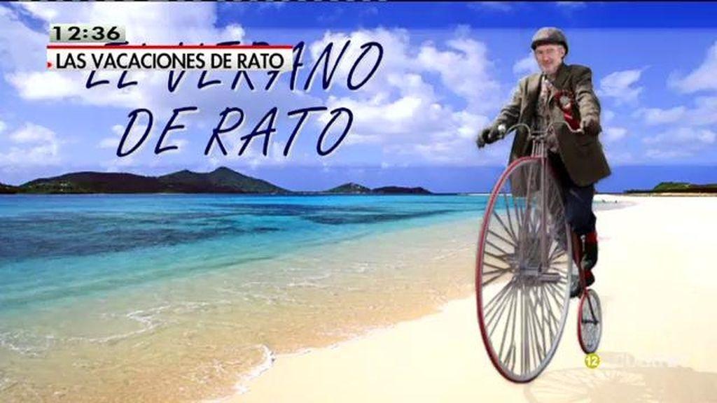 Chapuzones en velero, paseos en Vespa... Las vacaciones de Rato