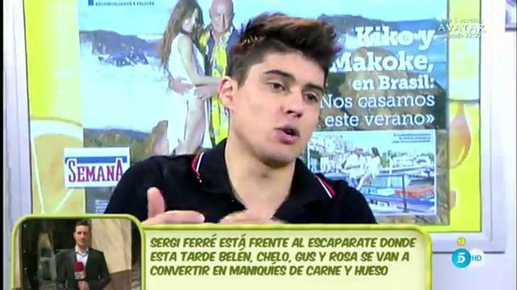 """Javier Tudela: """"Yo hablo con Makoke y Kiko mucho, pero la fecha exacta de la boda no la sé"""""""