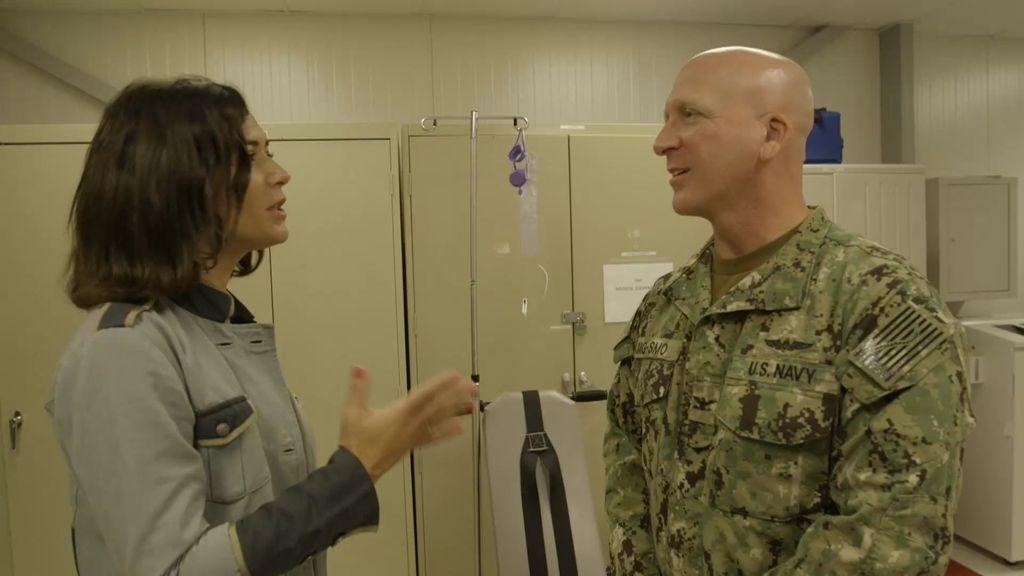 Alejandra pregunta al médico por la polémica técnica de alimentación forzada