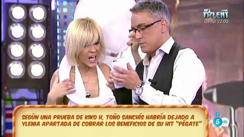 Ylenia alucina con los beneficios que le ha generado su canción a Toño Sanchís