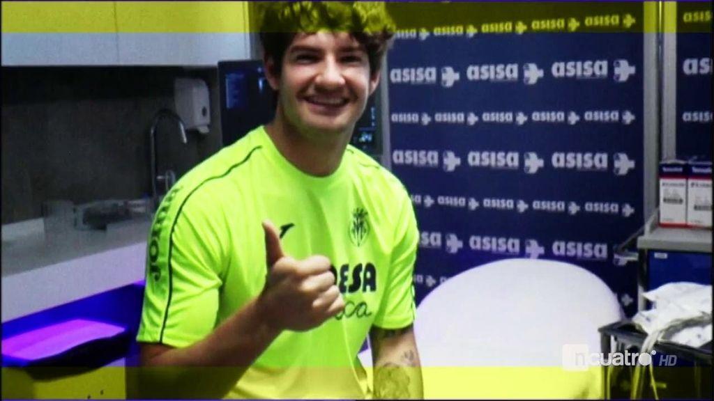 Alexandre Pato llega a Villarreal dispuesto a resurgir a las órdenes de Marcelino