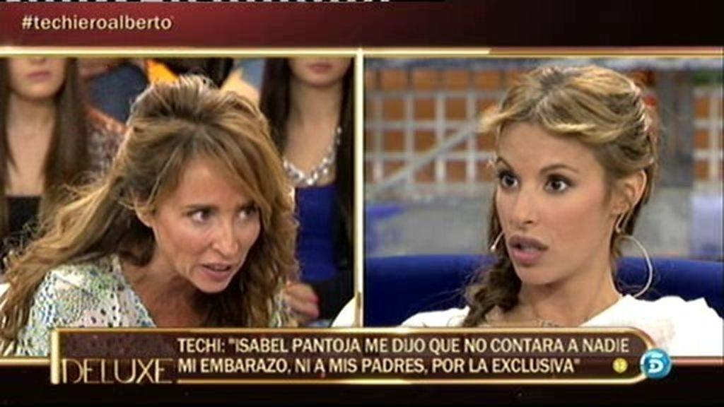 """Techi: """"Isabel Pantoja pidió 600 mil euros por la exclusiva de mi embarazo"""""""