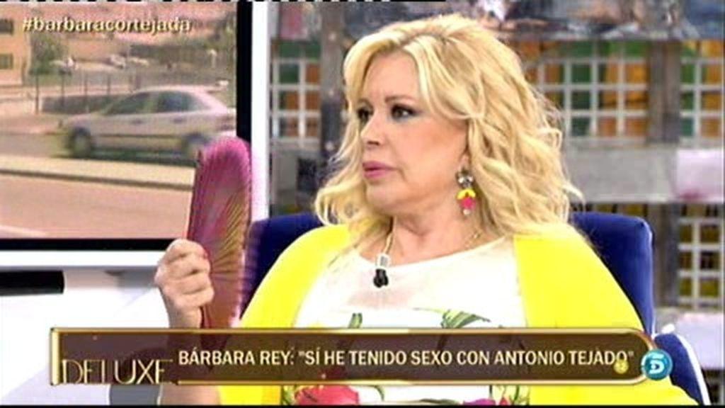 """Bárbara Rey: """"Antonio es un hombre muy bueno en la cama"""""""