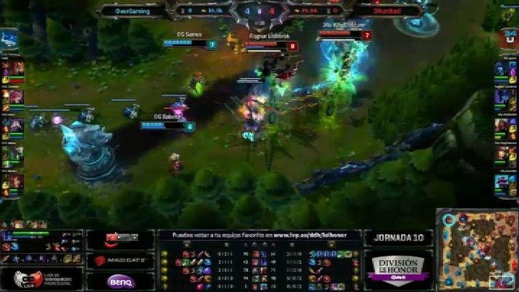 Una team fight decisiva en el early game que decantó la partida para OverGaming