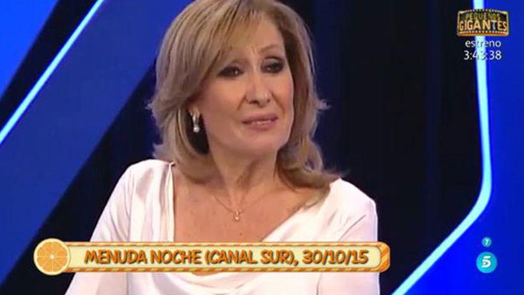 Rosa Benito habla de cómo tiene el corazón en el programa 'Menuda noche'