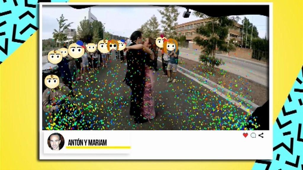 Petición de mano para todos los públicos: el 'flashmob' que le hizo Antón a Marian