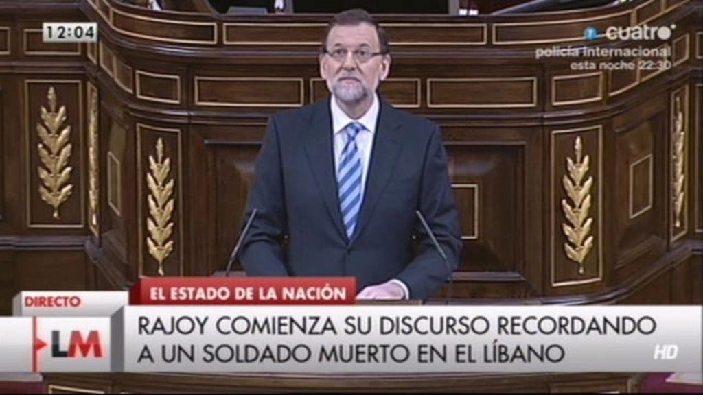 """Mariano Rajoy: """"Hemos atravesado con éxito el Cabo de Hornos"""""""