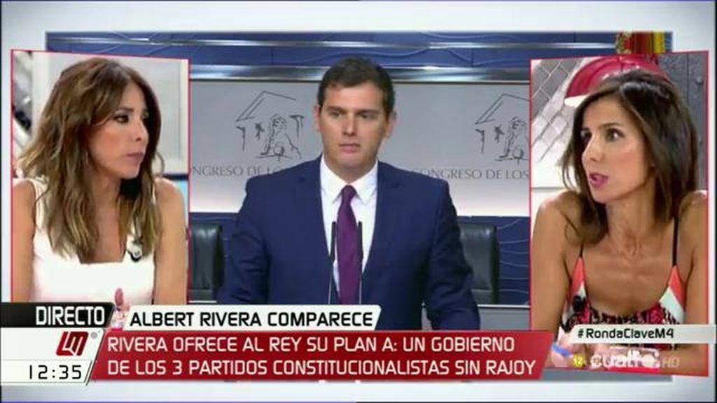 Albert Rivera anuncia su plan A: un gobierno PP, PSOE y C's sin Rajoy
