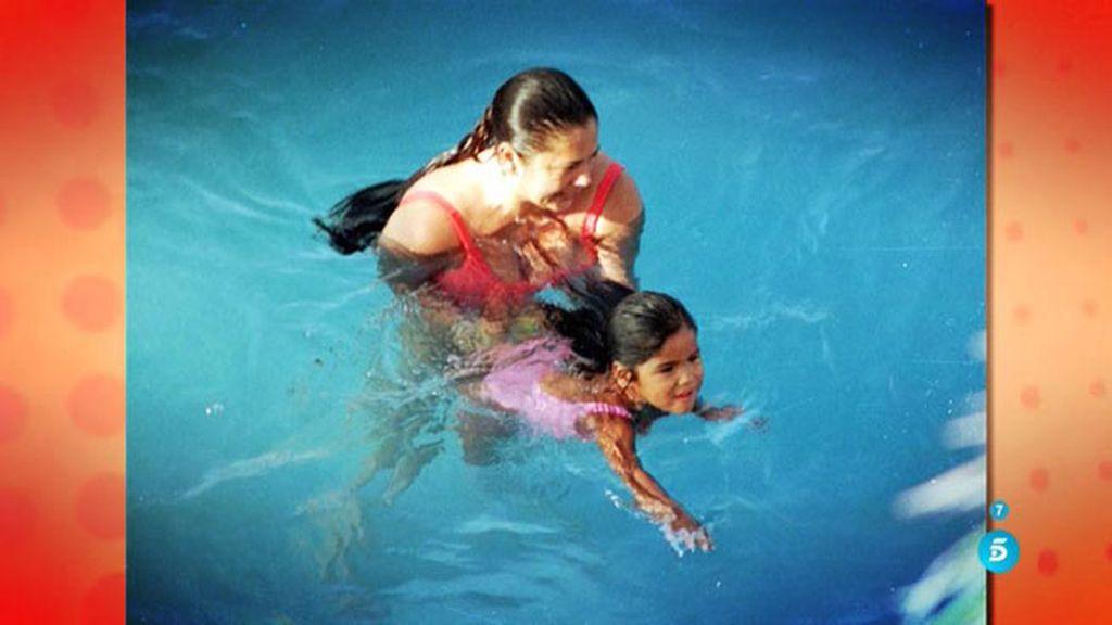 Las fotografías nunca vistas de Chabelita e Isabel Pantoja