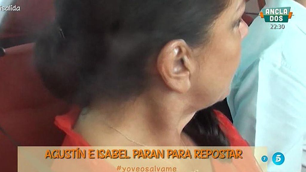 Imágenes del viaje de Isabel Pantoja del centro penitenciario a Cantora