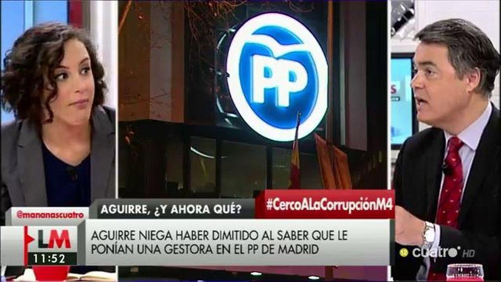 """Carlos Rojas (PP): """"La corrupción está en las personas, no en los partidos"""""""