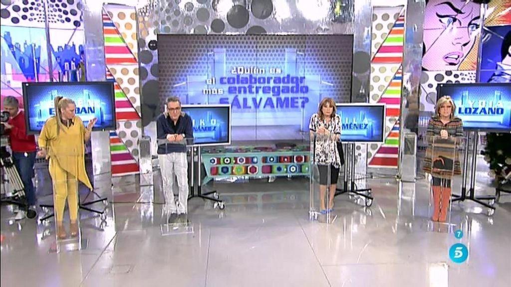 Kiko Hernández y Mila Ximénez, ganadores del debate de 'Sálvame'