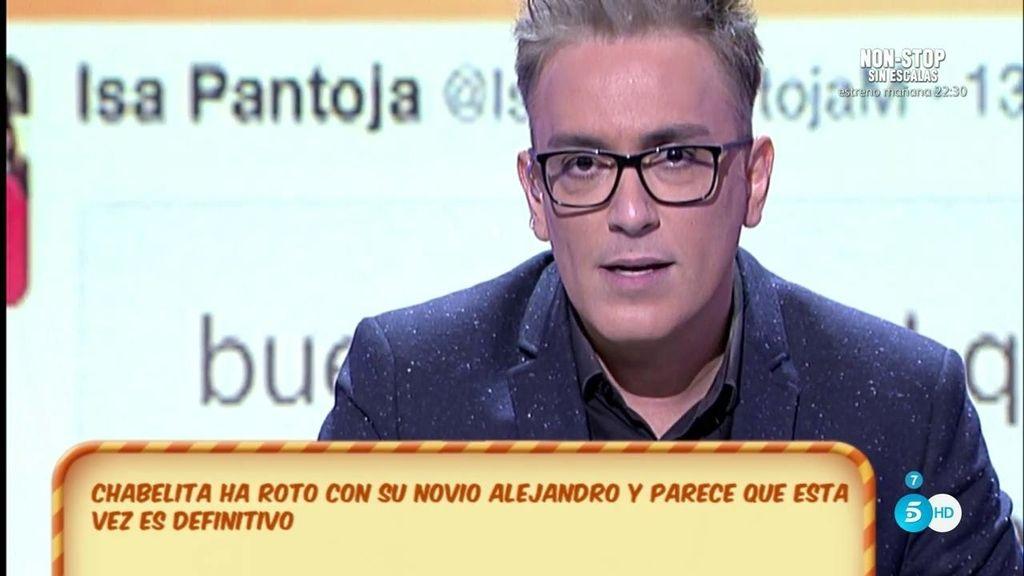 """Kiko H., tras la ruptura de Isa Pantoja y Alejandro: """"Él está como una moto porque Isa no para de quedar con Christopher"""""""