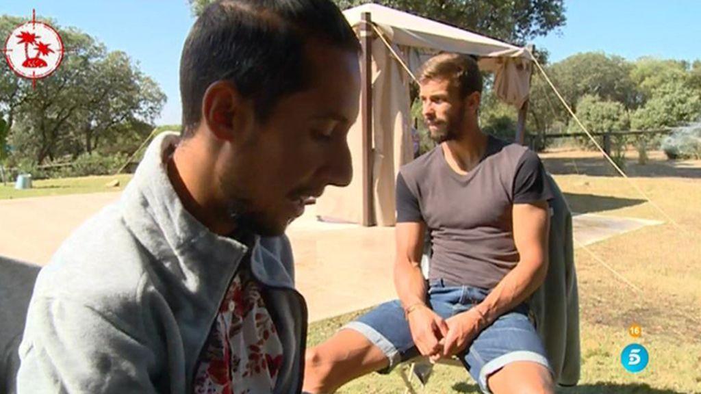 """Jesús Reyes, a Cristian: """"A mí me gusta el actor Jesús Castro y a ti, ¿Cristian?"""""""