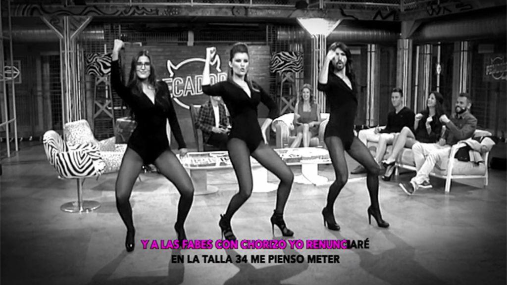 Lidia Torrent baila a lo Beyoncé