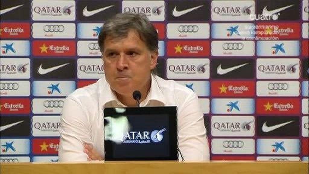 """Tata Martino: """"Hemos llegado a un acuerdo con el club para dejar el cargo"""""""