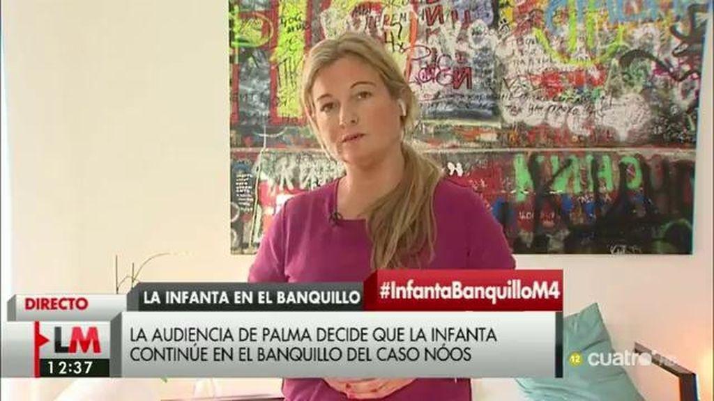 """V. Negrete, acusación de Manos Limpias en el Caso Nóos: """"He sufrido presiones"""""""