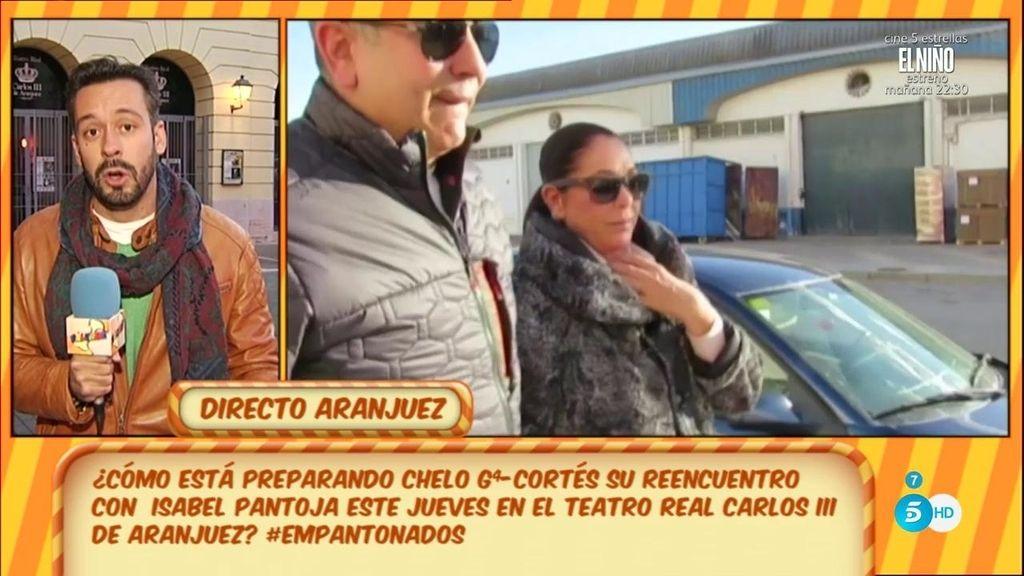 Isabel Pantoja se marcará un 'Rajoy' actuando para la prensa a través de un plasma