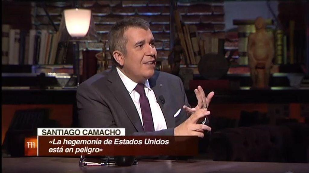 """S. Camacho: """"Hay una guerra oculta que está servida y EE.UU puede perder su hegemonía"""""""