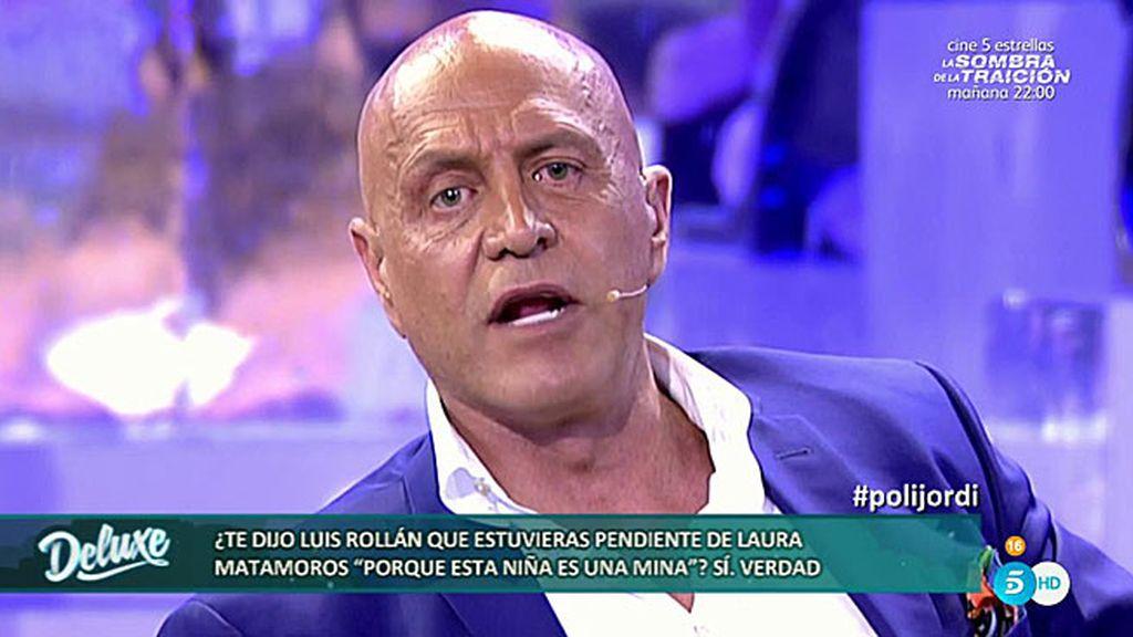 Kiko Matamoros le manda un mensaje a Luis Rollán tras descubrir lo que dice de su hija