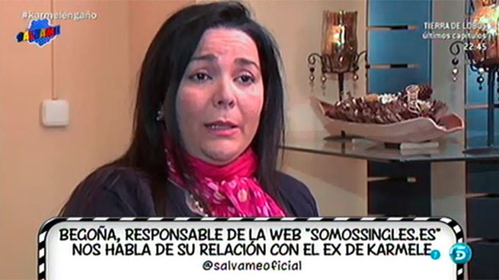 'Sálvame' habla con la responsable de la web en la que Diego Soto tenía perfil