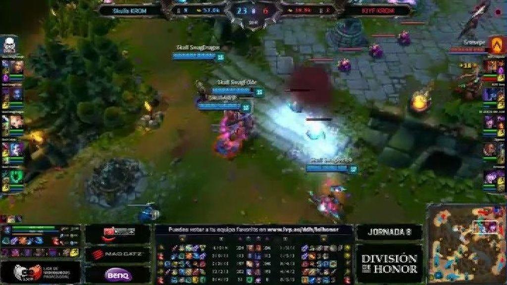 El quadra kill de Adryh que ganó el partido