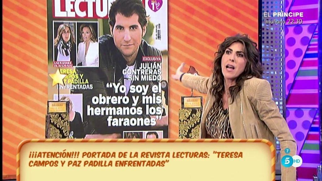 "Paz Padilla: ""Yo no estoy enfrentada con Mª Teresa Campos"""