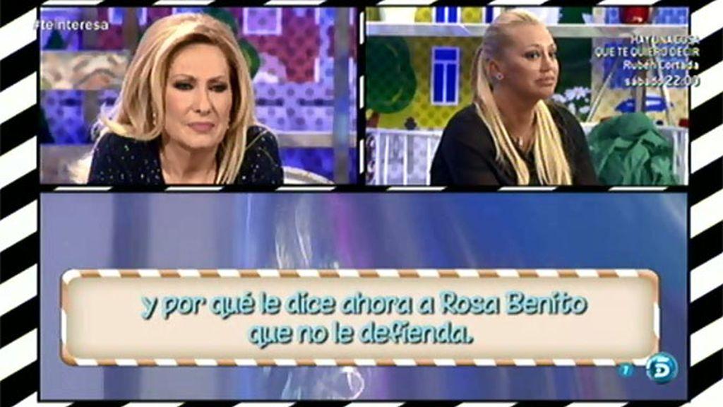 "Rosa Benito, a la audiencia: ""Yo he venido totalmente nueva, renovada"""