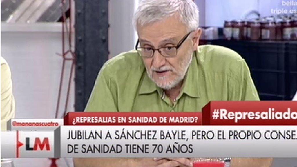"""Sánchez Bayle: """"En mi caso lo que se pretende es represaliar"""""""