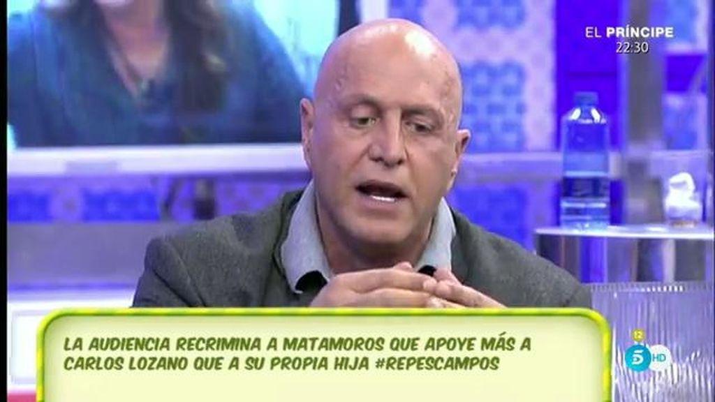 """Kiko M.: """"Carlos Lozano es la víctima de una conjura absolutamente injustificable"""""""