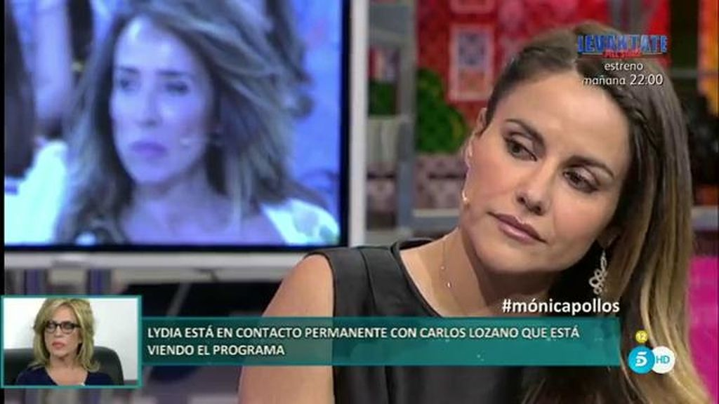 """Mónica Hoyos: """"Jamás ha habido una queja por parte de él de 'no me dejas ver a la niña"""""""