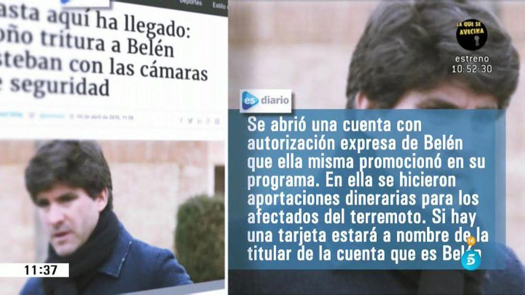 """Toño Sanchís: """"Voy a desenmascarar a Belén hasta que se sepa toda la verdad"""""""