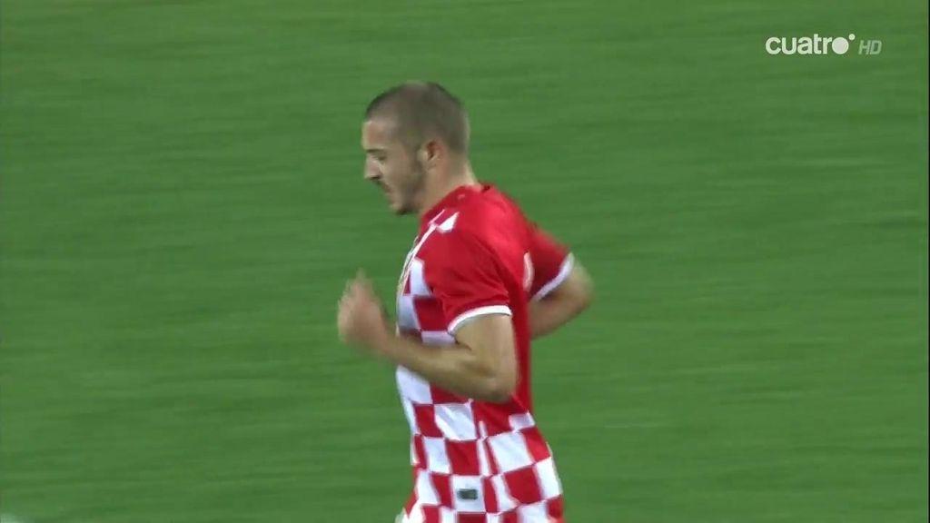 ¡Croacia no se rinde! Penalti de Meré que Radosevic convierte en el segundo gol croata