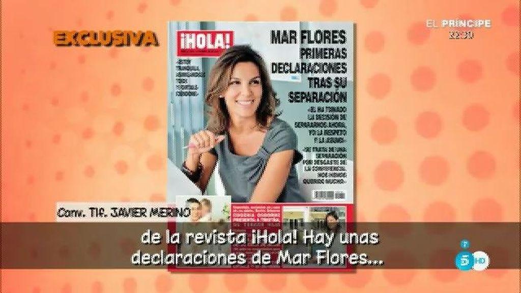 """J. Merino, de la entrevista de Mar Flores en '¡Hola!': """"No lo he leído y no lo voy a leer"""""""