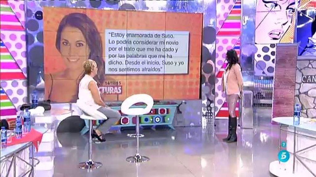 """Raquel (GH 16), en 'Lecturas': """"Estoy enamorada de Suso"""""""