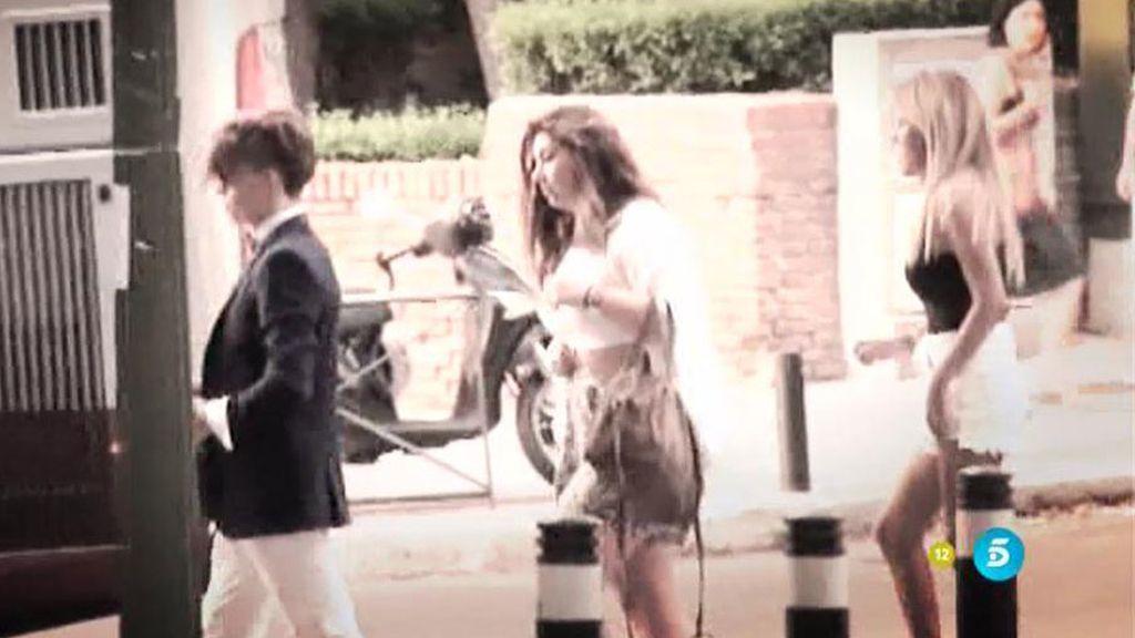 Bombazo del verano: ¿Hubo beso entre Chabelita y Christopher en un taxi?