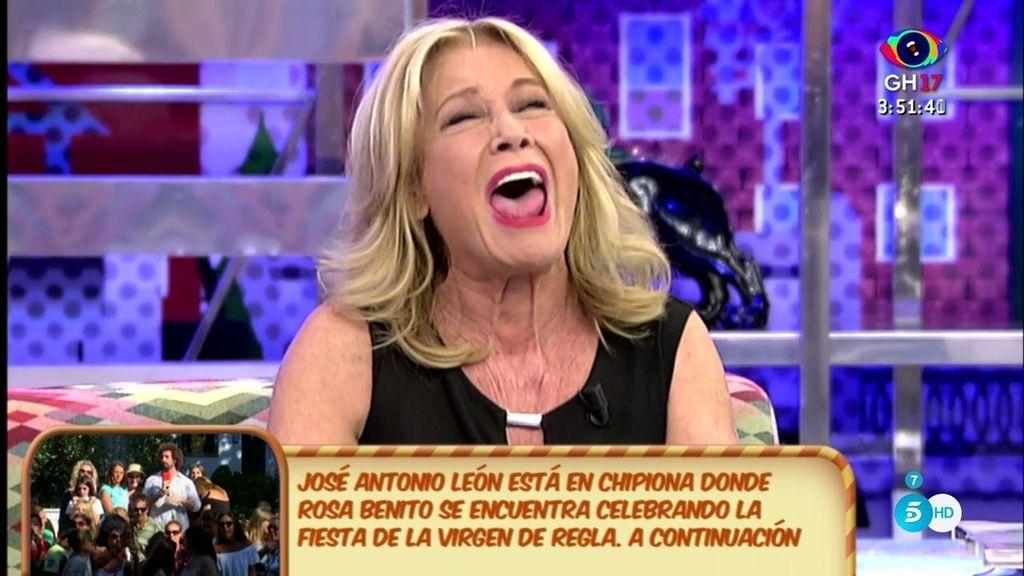 """Mila, a R. Benito: """"A un periodista que se está ganando la vida no le mires con esa cara"""""""
