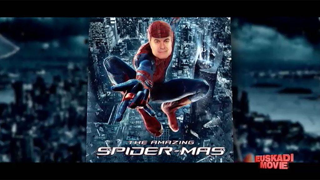 'Spider-Mas', el héroe del independentismo