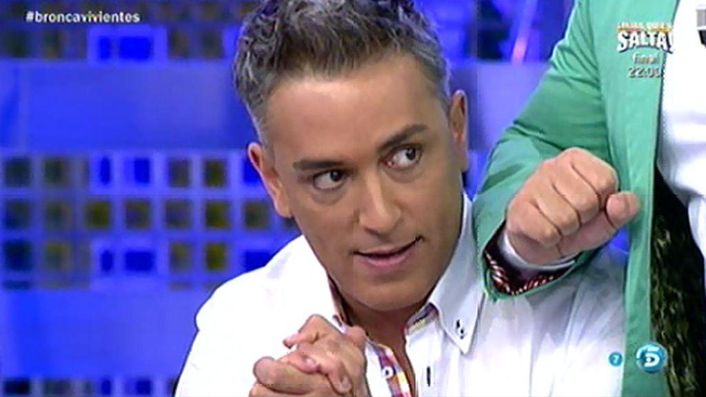"""Antonio Tejado """"tonteó"""" con una chica casada en Honduras, según Kiko Hernández"""