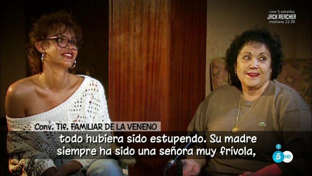 """Familiar de La Veneno: """"Su madre ha sido siempre muy frívola y homófoba..."""""""