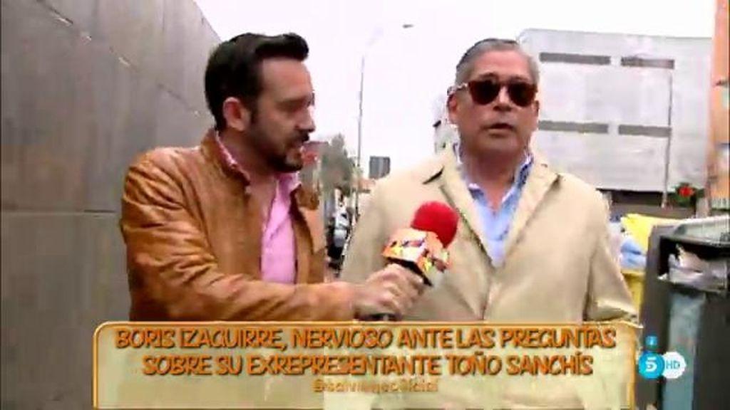"""Boris Izaguirre: """"Lamento mucho que estén en esta situación Belén y Toño Sanchís"""""""