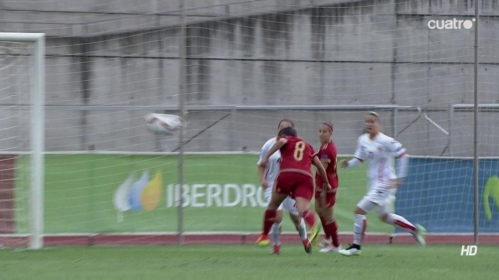 ¡Hat-trick de Sonia Bermúdez! Entra en carrera y cruza de cabeza (6-0)