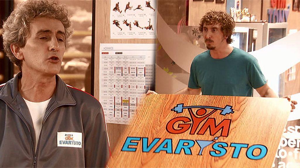 Evaristo, al mando del 'Gym Tony'