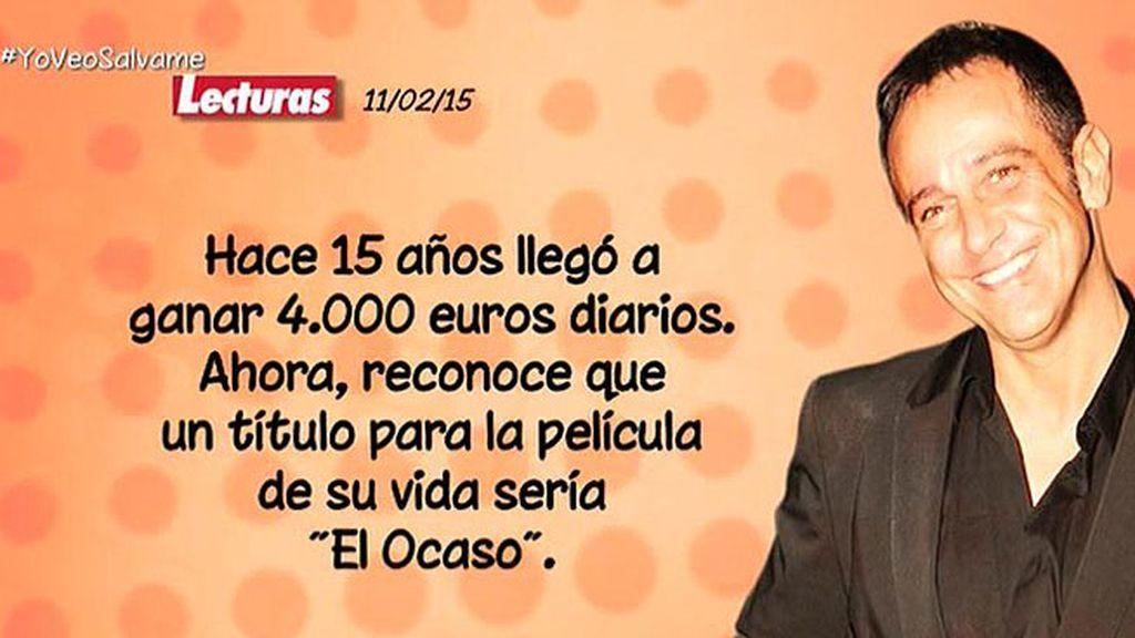 ¿Cuáles han sido los problemas económicos de Víctor Sandoval?
