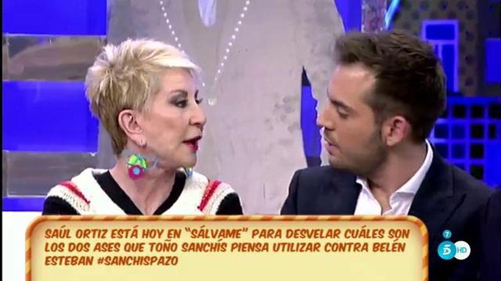 """Karmele Marchante, a Saúl Ortiz: """"Lydia Lozano envenenó nuestra relación"""""""