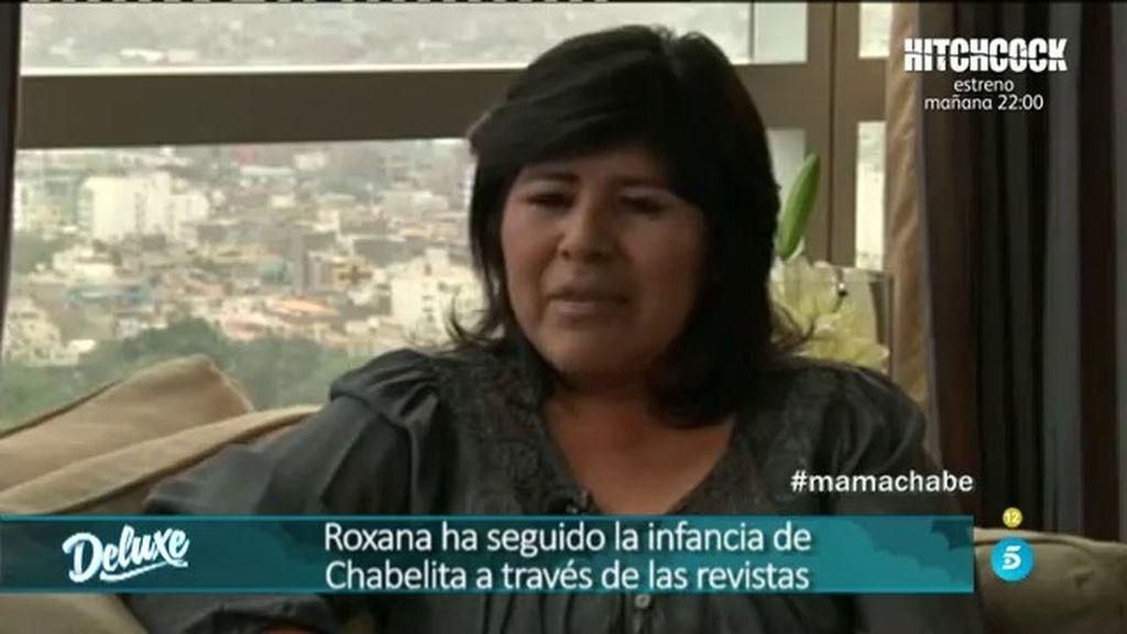 "Roxana: ""Daba gracias a Dios por poder seguir a mi hija a través de las revistas"""