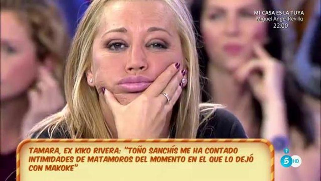 "Belén se dirige a Toño Sanchís: ""Te va a caer todo encima"""
