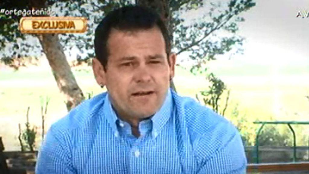 """Antonio: """"Ortega es muy querido en la cárcel"""""""
