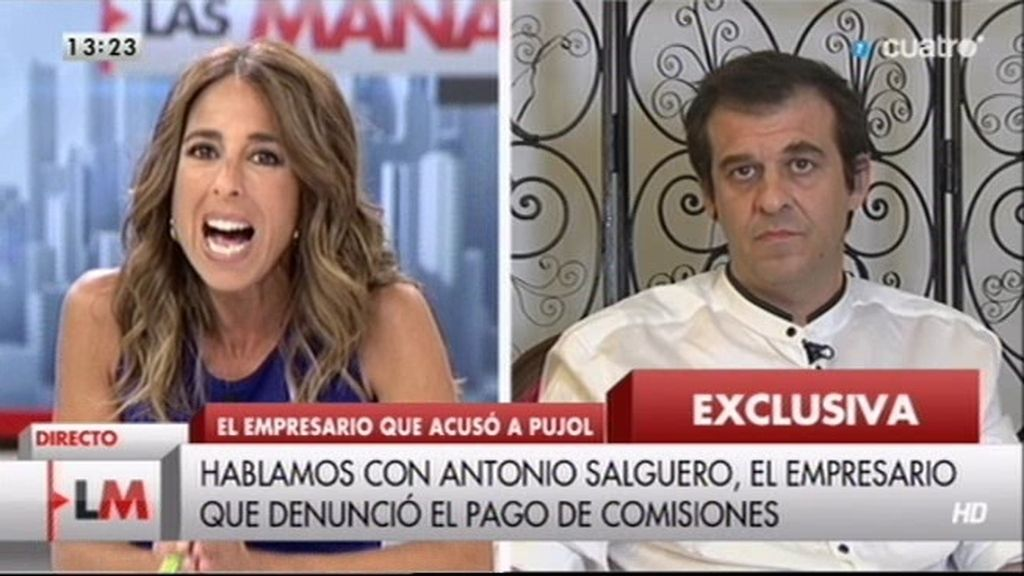 """Juan Antonio Salguero: """"Le pagué la comisión a un hermano de Felip Puig"""""""